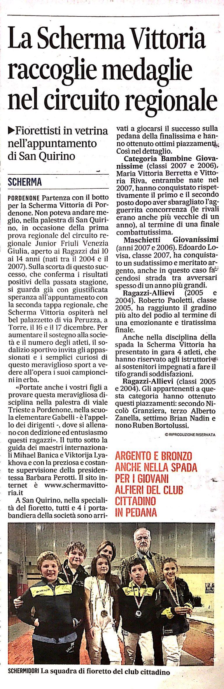 Il Gazzettino 27/10/2017